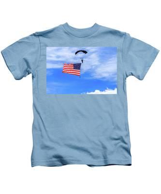Socom Flag Jump Kids T-Shirt