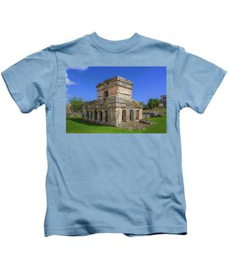 Temple Of The Frescoes Kids T-Shirt