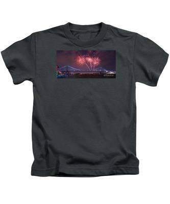 4 Th Of July Firework Kids T-Shirt