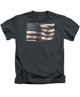 Historical Documents On Us Flag Kids T-Shirt
