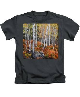 Birch Trees Kids T-Shirt