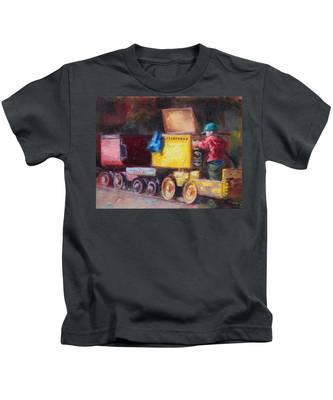 Child's Play - Gold Mine Train Kids T-Shirt