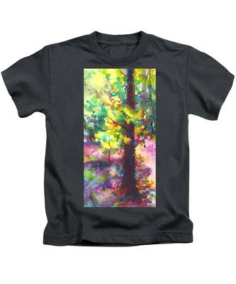 Dappled - Light Through Tree Canopy Kids T-Shirt