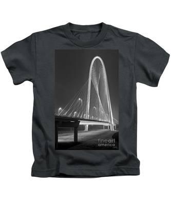Fog Lights And Lines Iv Kids T-Shirt