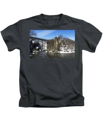 Great Falls In Color Kids T-Shirt