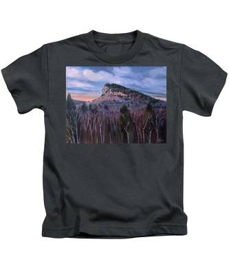 Indian Head In Lincoln New Hampshire Kids T-Shirt