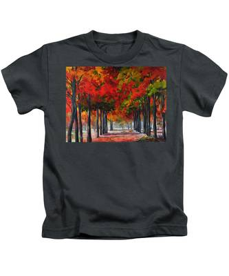 Red Alley II Kids T-Shirt
