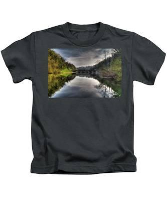 Reflections On Adda River Kids T-Shirt