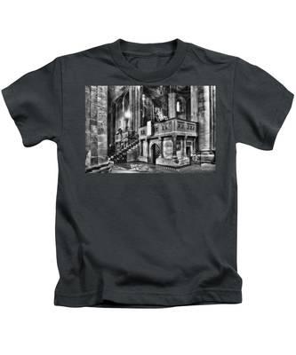 San Michele Toward The Altar Kids T-Shirt