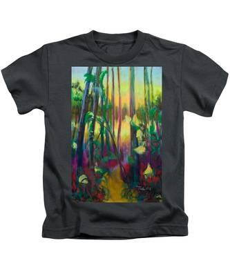 Unexpected Path - Through The Woods Kids T-Shirt