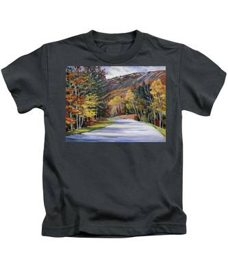 Waterville Road New Hampshire Kids T-Shirt