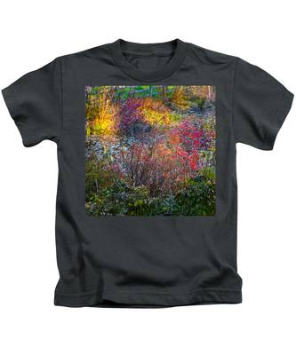 Bright Autumn Light Kids T-Shirt