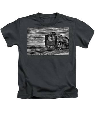 Steam Train No 844 - Iv Kids T-Shirt