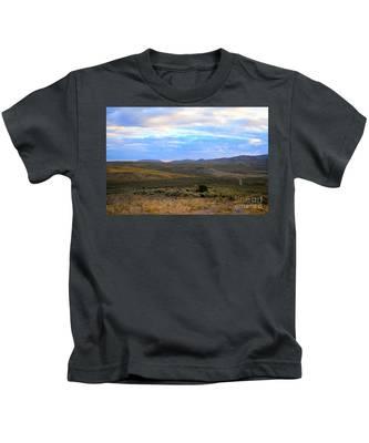 Stormy Wyoming Sunrise I Kids T-Shirt