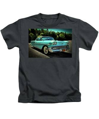 1958 Chevrolet Impala Kids T-Shirt