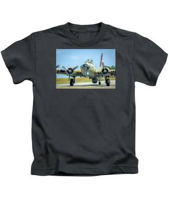 Boeing B-17g Flying Fortress   Kids T-Shirt