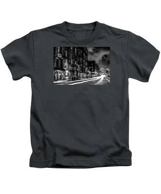 Savannah Georgia Waterfront And Street Scenes  Kids T-Shirt