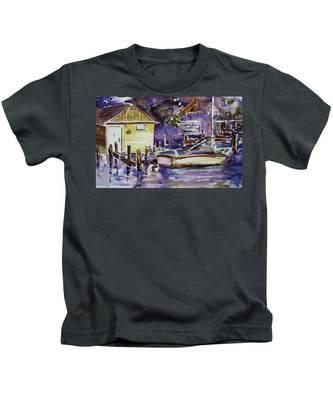 At Boat House 3 Kids T-Shirt