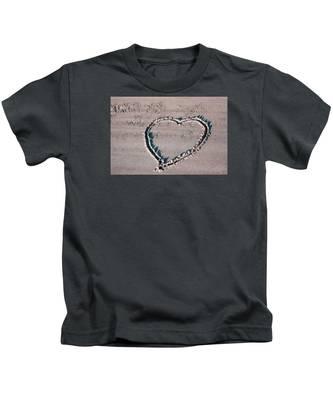 Beach Heart Kids T-Shirt