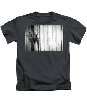 Behind Closed Doors Kids T-Shirt