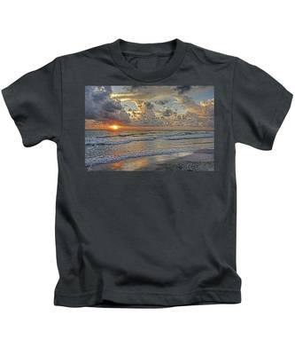 Beloved - Florida Sunset Kids T-Shirt
