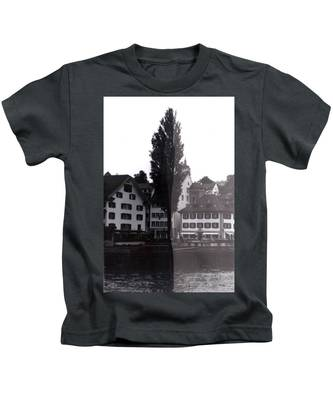Black And White Kids T-Shirts