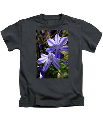 Blue Lily Kids T-Shirt