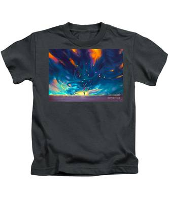 Blue Tornado Kids T-Shirt