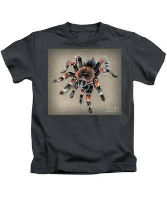 Brachypelma Smithi  Mexican Red Knee Tarantula Kids T-Shirt