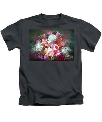 Bunch Of Roses Kids T-Shirt