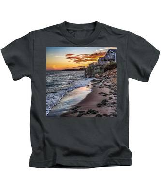 Cape Cod September Kids T-Shirt