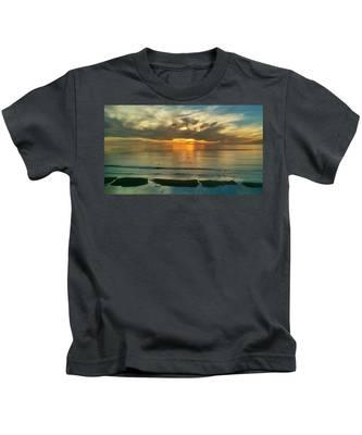 Carlsbad Beach  Kids T-Shirt