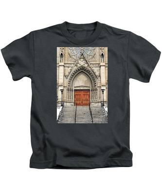 Cathedral Of St Helena Kids T-Shirt