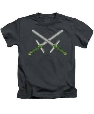 Celtic Daggers Kids T-Shirt