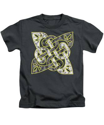 Celtic Dark Sigil Kids T-Shirt