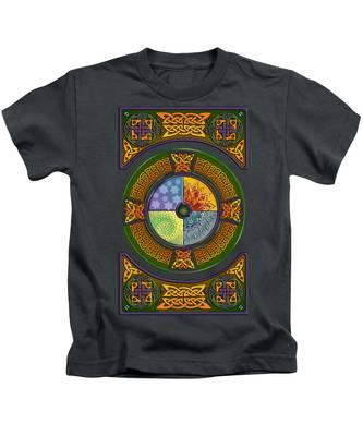 Celtic Elements Kids T-Shirt