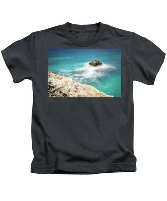 Cliff Views In Negril Kids T-Shirt
