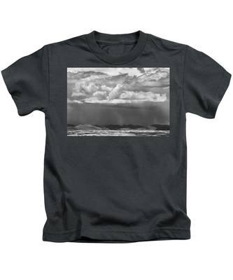 Cloudy Weather Kids T-Shirt