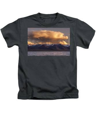 Cloud Over Namtso Kids T-Shirt