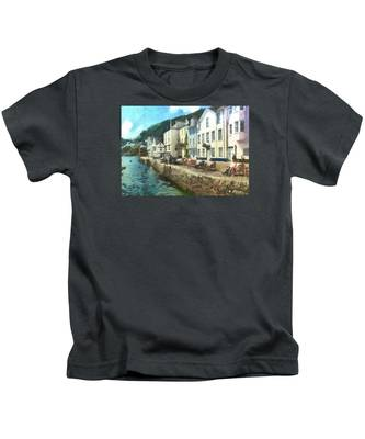 Bayards Cove Dartmouth Devon  Kids T-Shirt