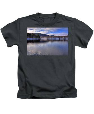 Early Snow On West Lake Kids T-Shirt
