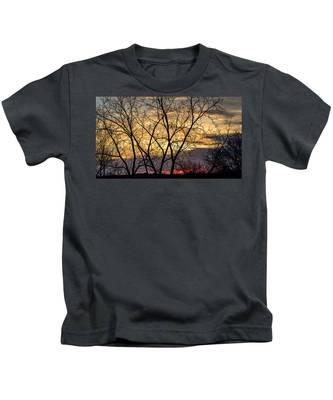 Early Spring Sunrise Kids T-Shirt