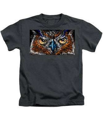 Eyes In The Night... Kids T-Shirt