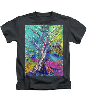 Firey Birch Kids T-Shirt