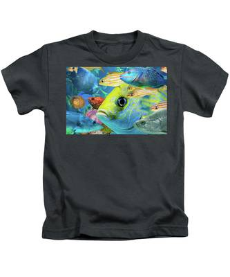 Fishy Collage 02 Kids T-Shirt