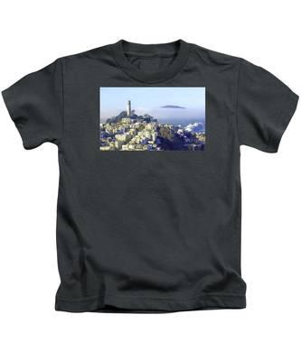 Fog Rolling In Kids T-Shirt