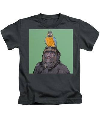 Gregory The Gorilla Kids T-Shirt