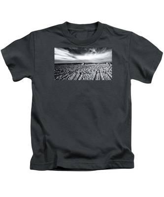 Gulls On Beach Kids T-Shirt