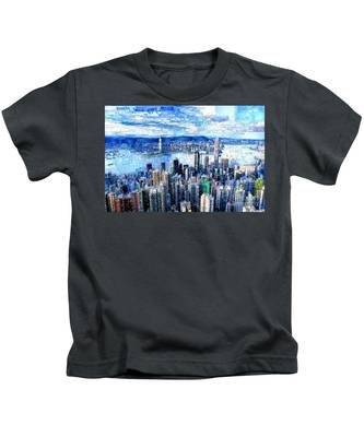 Hong Kong, China Kids T-Shirt