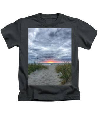 Hope On The Horizon Delray Beach Florida  Kids T-Shirt